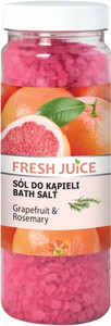 Fresh Juice, sól do kąpieli Grapefruit & Rosemary, 700g