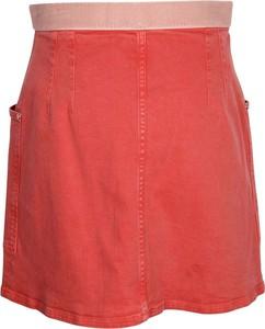 Czerwona spódnica Chanel Vintage z bawełny mini w stylu casual