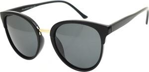 Czarne okulary damskie Polarzone