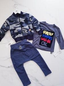 Granatowe spodnie dziecięce All For Kids