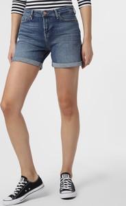 Niebieskie szorty 7 for all mankind z jeansu