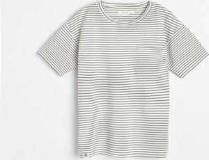 Koszulka dziecięca Reserved w paseczki dla chłopców