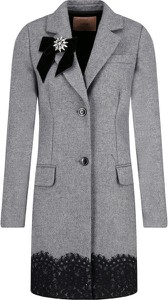 Płaszcz Twinset z wełny