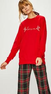 Czerwona bluza Answear