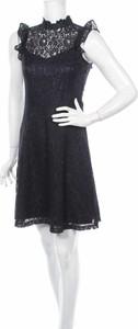 Niebieska sukienka Rw & Co. mini bez rękawów