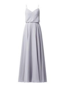 Sukienka Laona na ramiączkach maxi z szyfonu