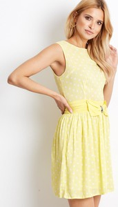 Sukienka Sheandher.pl mini w stylu casual z okrągłym dekoltem