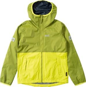 Zielona kurtka dziecięca Jack Wolfskin