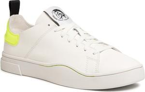 eobuwie.pl Sneakersy DIESEL - S-Clever Ls Y01983 P3144 H7328 Star White/Yellow Fl