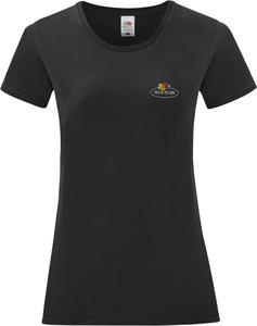 T-shirt Fruit Of The Loom z bawełny z okrągłym dekoltem