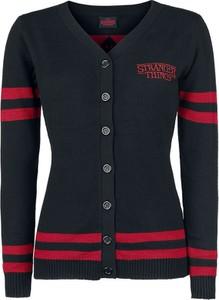 Czarny sweter Emp w stylu casual