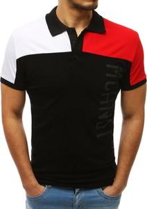 Koszulka polo Dstreet w stylu casual z bawełny z krótkim rękawem
