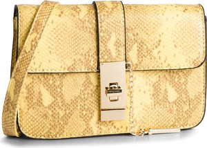 Żółta torebka Monnari na ramię