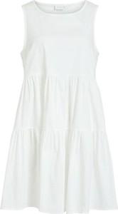 Sukienka Vila bez rękawów mini w stylu casual