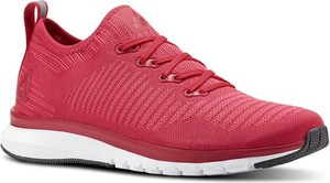Czerwone buty sportowe ctxsport z płaską podeszwą sznurowane