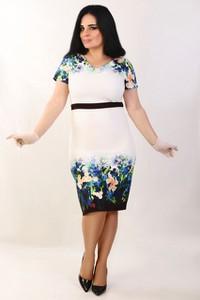 69d6ea2d6 sukienka wyszczuplająca dwukolorowa - stylowo i modnie z Allani