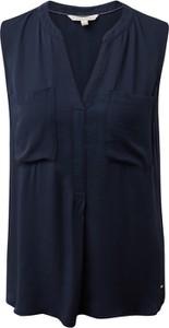 Bluzka Tom Tailor Denim z dekoltem w kształcie litery v