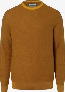 Pomarańczowy sweter Bugatti z bawełny