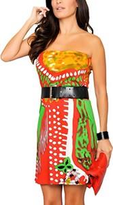 Sukienka amazon.de gorsetowa mini