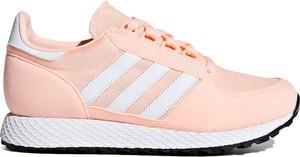 Buty sportowe Adidas Originals sznurowane z płaską podeszwą w sportowym stylu