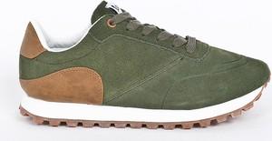 Zielone buty sportowe Vespa