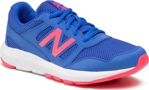 Niebieskie buty sportowe dziecięce New Balance