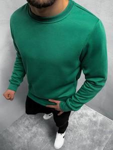 Zielona bluza ozonee.pl w stylu casual