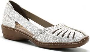 Sandały Rieker w stylu casual na koturnie
