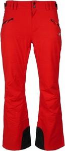 Czerwone spodnie 4F w sportowym stylu