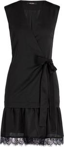 Czarna sukienka Twinset w stylu casual bez rękawów