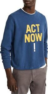 Niebieska bluza Ecoalf w młodzieżowym stylu