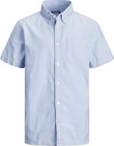 Niebieska koszula dziecięca Jack & Jones