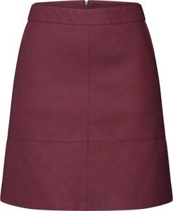 Czerwona spódnica Only mini