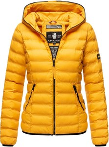 Żółta kurtka Navahoo w stylu casual