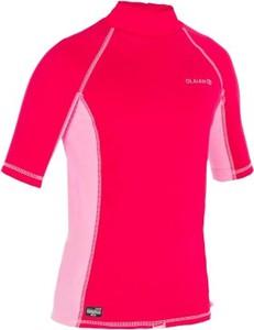 Różowa bluzka dziecięca Olaian z plaru