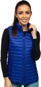 Niebieska kamizelka Denley w stylu casual