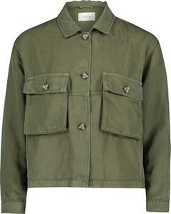 Zielona kurtka Cartoon w stylu casual