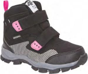 Brązowe buty dziecięce zimowe 4F