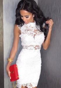 ba292514a5 białe sukienki z koronki. - stylowo i modnie z Allani