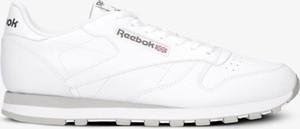 Buty sportowe Reebok w sportowym stylu classic ze skóry