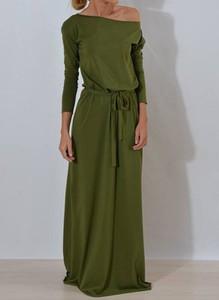 Sukienka Sandbella z dresówki maxi