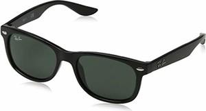 Zielone okulary damskie Ray-Ban Junior