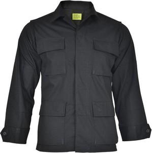 Czarna bluza Teesar z tkaniny