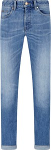 Niebieskie jeansy Hugo Boss w stylu casual