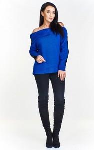 Niebieski sweter By Mieta