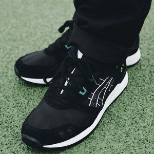Czarne buty sportowe ASICS