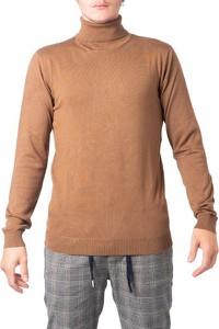 Brązowy sweter Hydra Clothing w stylu casual