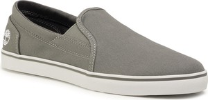 eobuwie.pl Tenisówki TIMBERLAND - Skape Park Slip-On TB0A1UY5C241 Medium Grey Canvas