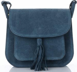 Niebieska torebka VITTORIA GOTTI przez ramię średnia w stylu casual