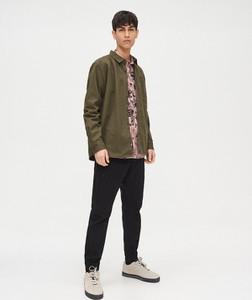 Zielona koszula Cropp z bawełny